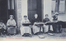 Women Hand Sewing, Lacework, Dentelliere Au Beguinage, Belgium, 00-10s