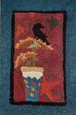 """Punchneedle Pattern by Country Threads  """"Sunflower Sunset"""""""