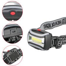 Portable 3 Modes COB LED Headlamp Headlight Head Lamps Lights Torch Flashlights