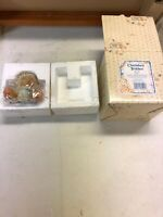 VTG Enesco Cherished Teddies Figurine Kara Bear Honey 265799 Friendship 1997 New