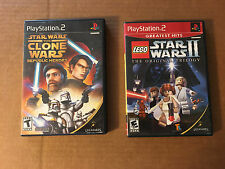 Star Wars: The Clone Wars - Republic Heroes PS2 + LEGO STAR WARS II ORIG.TRILOGY