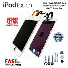 NEW iPod Touch 5th 6th Gen Retina LCD Digitiser Touch Screen Repair - WHITE