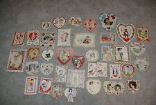 36 Vintage 1920's -30's Mainly Usa Valentines 21 Whitney Made Great Lot!