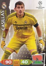 IKER CASILLAS ESPANA REAL MADRID CARD ADRENALYN CHAMPIONS LEAGUE 2012 PANINI