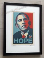 Shepard Fairey - Lithographie HOPE Signée Et Numérotée sur 150 - Certificat Edit