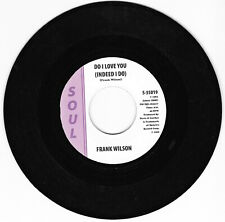 Frank Wilson Do I love you Re-issue
