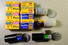 7 x Film 135 Farbe Fujicolor 200, Kodak VR Plus 200 u. Farbwelt 400, NoName 400