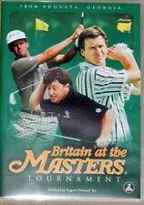 BRITAIN AT THE MASTERS 2 X DVD GOLF FILMS UNWANTED XMAS GIFT PRESENT