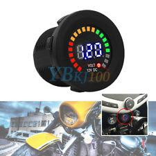 DC 12V Car Motorcycle LED Digital Display Voltmeter Waterproof Voltage Meter GL