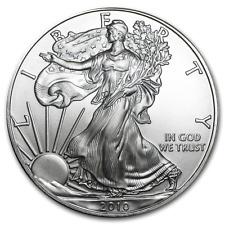 2010 US 1 Troy oz fine American Eagle Silver Dollar Bullion BU