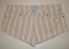 "GORGEOUS SASS&BIDE RAINBOW STRIPED COTTON SHORTS - 30  ""HOUSE OF FUN"""