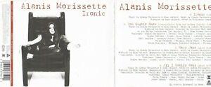Alanis Morissette - Ironic (4 Track Maxi CD)