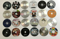 Mixed Lot Of 24 Used Cds Compact Discs for crafts arts and projects