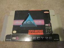 Spectre (Super Nintendo SNES) box only