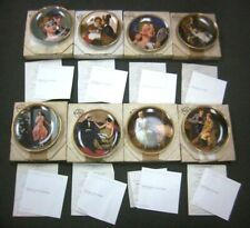 Edwin M. Knowles Rediscovered Women Series Collector'S Plate Set Of 8