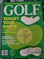 Golf Magazine March 1988 Target Your Shots Equipment