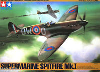 Tamiya 61032 1/48 Scale Model Aircraft Kit WWII RAF Supermarine Spitfire Mk.I