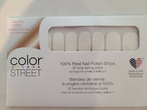 Color Street Nail Polish Strips ~Clear As Day~ 32 strips total! Free shipping!