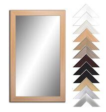 Spiegel mit Rahmen Wandspiegel flurspiegel  große Größen 12 Farben Rahmen Bad