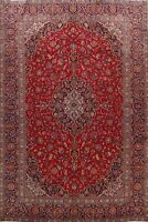 Vintage Medallion Hand-Knotted Ardakan Area Rug 10x13 Traditional Floral Carpet