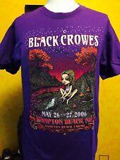 BLACK CROWES - HAMPTON BEACH 2006 Tour Shirt ( Chris Robinson / Magpie Salute )