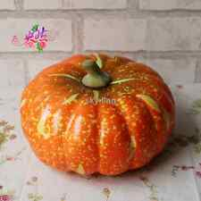 lifelike solid pumpkin model artificial home party Decorative Hallowmas props