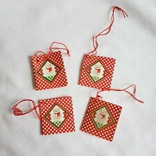 Set of 4 Vintage Enesco Lucy & Me Tags for 1985 Figurines