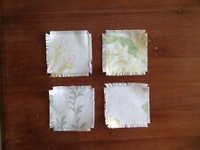 Laura Ashley Coaster/Drink Mats - Honeysuckle Camomile Fabric- New! Stunning!