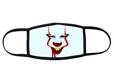 Pennywise Clown Horror Face Mask- Adult Size