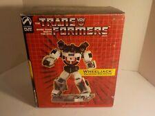 Transformers G1 WHEELJACK Mini Polystone STATUE PALISADES In Box