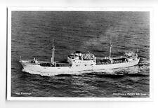 cb0836 - Swedish Svea Line Coastal Cargo Ship - Flamingo , built 1949 - postcard