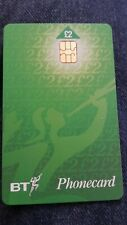 """NEW BT PHONE CARD"" - WITH CHIP - £2 - BRITISH TELECOM PHONECARD Ex  1999"