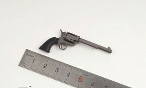 """1/6 Scale Gun black Western Cowboy Revolver Model Toy For 12"""" Action Figure Body"""
