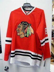 NEW w/ Tag Reebok NHL Hockey Chicago Blackhawks Patrick Kane Red Jersey Size 54