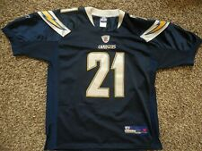 #21 LaDainian Tomlinson Mens Navy Blue San Diego Chargers REEBOK Jersey Size XL