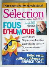 SÉLECTION DU READER'S DIGEST DE JUIN 2005, EN COUVERTURE YVON DESCHAMPS