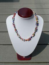 Millefiori - Halskette 100 cm aus Murano / Venedig