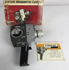 Vintage Emdeko Zoom Reflex Movie Camera EM 5000 3E CdS Fully Automatic Electric