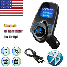 Universal Bluetooth Car MP3 Player FM Transmitter Wireless Radio Adapter