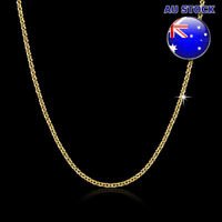 Wholesale 18K Yellow Gold Filled 1.5mm Link Anchor Chain Necklace For Pendants