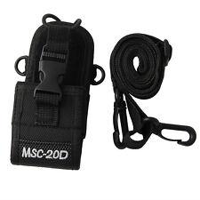Pouch Holster Bag Case MSC-20D Nylon For Baofeng Motorola Kenwood Radio HIYG New