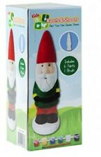 Paint Your Own Garden Gnome - Arts and Crafts Set - Garden Crafts - New
