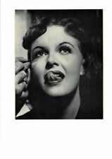 VINTAGE RED LIPS TONGUE MOUTH PRETTY GIRL LADY WOMAN GAY HOT SEXY SEX AD PRINT