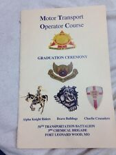 US Army Motor Transport Operator Course Graduation Ceremony Fort Leonard Wood,MO