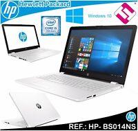 """PORTATIL HP 15-BS014NS INTEL I5 7200U 15.6"""" WINDOWS 10 4GB DDR4 2133 HDD 500GB"""