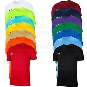 Nike Mens T Shirt Top Gym Sport Size S M L XL XXL Black Red Blue White Vented