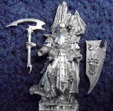 2007 Dark Elf Dreadlord Citadel Command Unit Drow Warhammer Army Druchii Elves