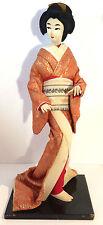 Geisha Doll, Nishi, Stunning Detail on Kimono, etc. 1940's or 1950's