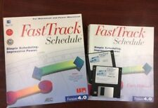 FastTrack Schedule Ver 4, MAC project scheduling timeline presentation gantt