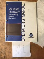 New Holland IntelliSteer Auto Steering System Operator Manual 87057488   04/05